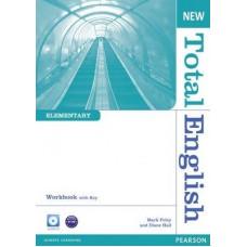 Рабочая тетрадь New Total English Elementary Workbook with Key and Audio CD Pack
