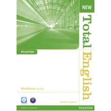 Рабочая тетрадь New Total English Starter Workbook with Key and Audio CD Pack
