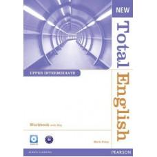 Рабочая тетрадь New Total English Upper Intermediate Workbook with Key and Audio CD Pack