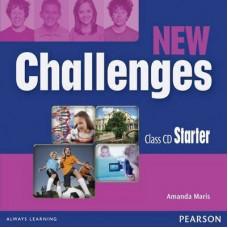 Диски New Challenges Starter Class CDs
