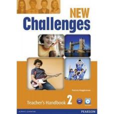Книга для учителя New Challenges 2 Teacher's Handbook & Multi-ROM Pack