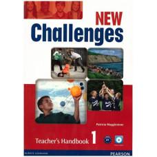 Книга для учителя New Challenges 1 Teacher's Handbook & Multi-ROM Pack