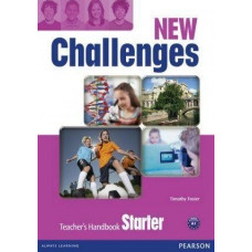 Книга для учителя New Challenges Starter Teacher's Handbook & Multi-ROM Pack