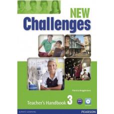 Книга для учителя New Challenges 3 Teacher's Handbook & Multi-ROM Pack