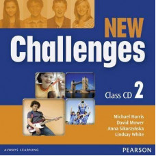 Диски New Challenges 2 Class CDs