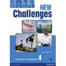 Книга для учителя New Challenges 4 Teacher's Handbook