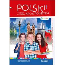 Учебник Polski krok po kroku Junior Podręcznik studenta z CD