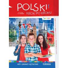 Дополнительные задания и игры Polski krok po kroku Junior Gry i zabawy językowe