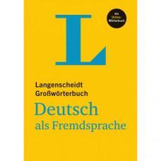 Словарь Langenscheidt Großwörterbuch Deutsch als Fremdsprache mit Online Wörterbüch