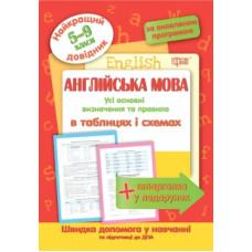 Англійська мова у таблицях і схемах  5-11класи