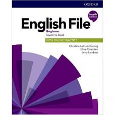 Учебник English File 4th Edition Beginner Student's Book