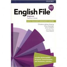 Книга для учителя English File 4th Edition Beginner Teacher's Guide