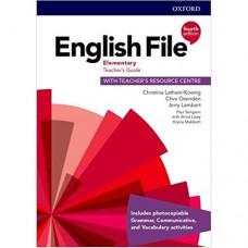 Книга для учителя English File 4th Edition Elementary Teacher's Guide