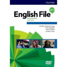 Диск English File 4th Edition Intermediate DVD