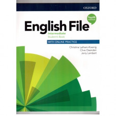 Учебник  English File 4th Edition Intermediate Student's Book