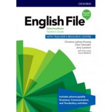 Книга для учителя English File 4th Edition Intermediate Teacher's Guide