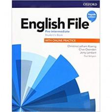 Учебник  English File 4th Edition Pre-Intermediate Student's Book