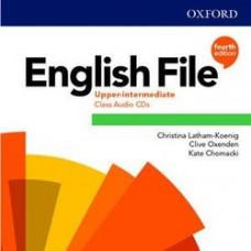 Диски English File 4th Edition Upper-Intermediate Class Audio CDs