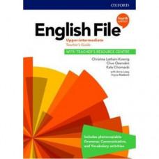 Книга для учителя English File 4th Edition Upper-Intermediate Teacher's Guide