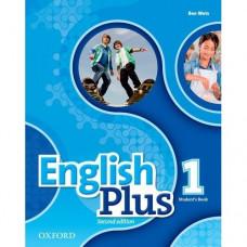 Учебник  English Plus 1 Second Edition Student's Book