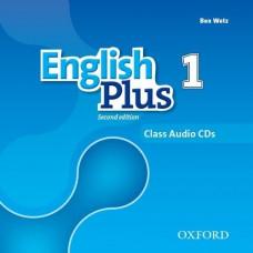 Диски English Plus 1 Second Edition Class Audio CDs