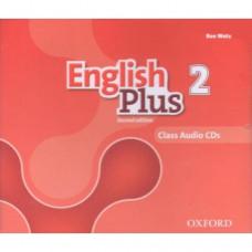 Диски English Plus 2 Second Edition  Class Audio CDs