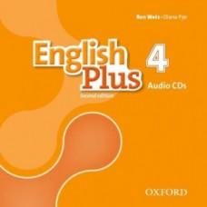 Диски English Plus 4 Second Edition Class Audio CDs