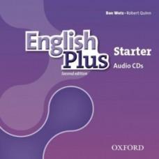 Диски English Plus Starter  Second Edition Class Audio CDs