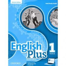 Рабочая тетрадь English Plus 1 Second Edition Workbook