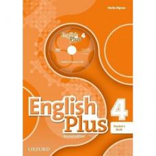 Книга для учителя English Plus  4 Second Edition Teacher's Book