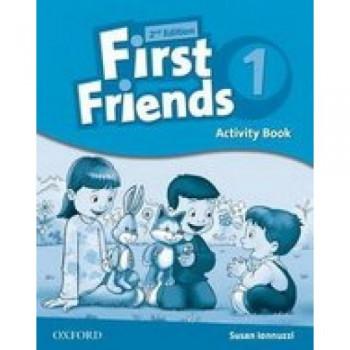 Рабочая тетрадь First Friends Second Edition 1 Activity Book