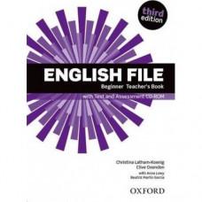 Книга для учителя English File 3rd Edition Beginner Teacher's Book