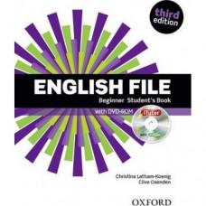 Учебник English File 3rd Edition Beginner Student's Book