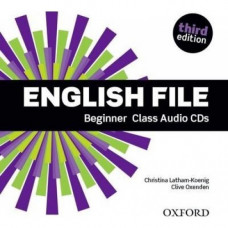 Диски English File 3rd Edition Beginner Class Audio CDs