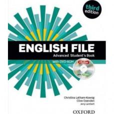 Учебник English File 3rd Edition Advanced Student's Book