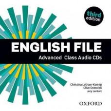 Диски English File 3rd Edition Advanced Class Audio CDs