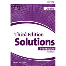 Рабочая тетрадь Solutions Third Edition Intermediate Workbook