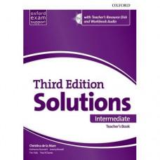 Книга для учителя Solutions Third Edition Intermediate Teacher's Pack