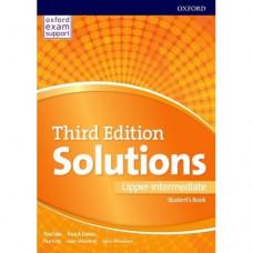 Учебник Solutions Third Edition upper-intermediate Student's Book