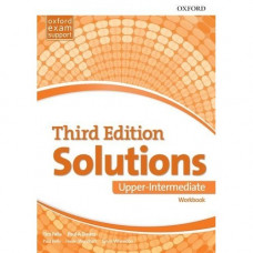Рабочая тетрадь Solutions Third Edition Upper-Intermediate Workbook
