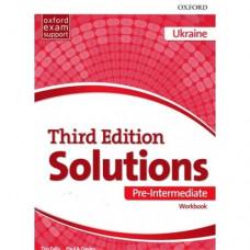 Рабочая тетрадь Solutions Third Edition Pre-Intermediate Workbook