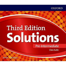 Диски Solutions Third Edition Pre-Intermediate Class Audio CDs (3)