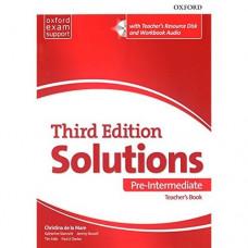 Книга для учителя Solutions Third Edition Pre-Intermediate Teacher's Pack