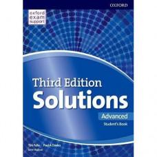 Учебник Solutions Third Edition Advanced Student's Book