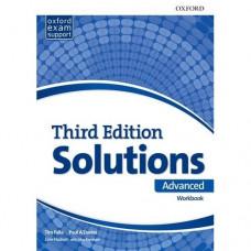 Рабочая тетрадь Solutions Third Edition Advanced Workbook
