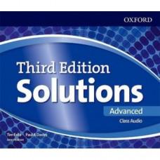 Диски Solutions Third Edition Advanced Class Audio CDs (4)