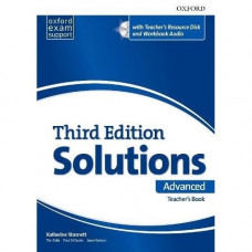 Книга для учителя Solutions Third Edition Advanced Teacher's Pack