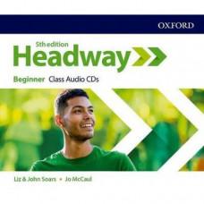 Диски  Headway (5th Edition) Beginner Class Audio CDs
