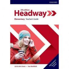 Книга для учителя New Headway (5th Edition) Elementary Teacher's Guide