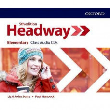 Диски New Headway (5th Edition) Elementary Class Audio CDs (3)